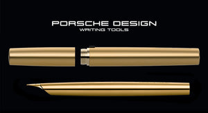 Porsche Design: P3135 Solid Fountain Pen - Gold