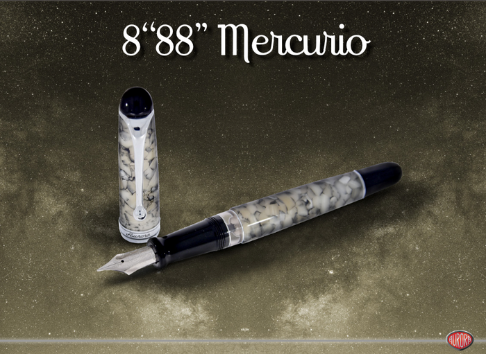 Aurora 888 Mercurio Limited Edition Fountain Pen