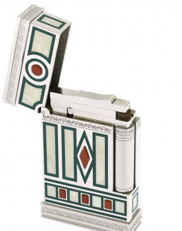 S.T. Dupont: Medici Pocket Lighter No Box