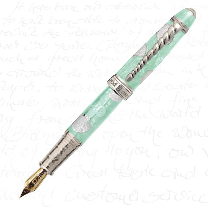 David Oscarson Seaside Seafoam Green Pen
