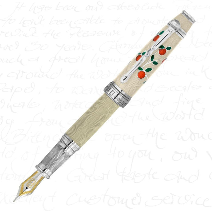 David Oscarson Tree of Life White Pen