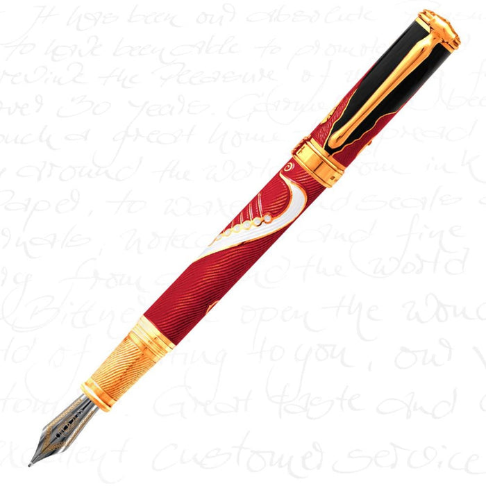 David Oscarson Valhalla Red Pen