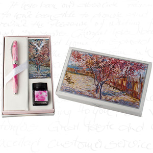 Visconti Van Gogh Souvenir de Mauve Fountain Pen (Holiday Gift Set)