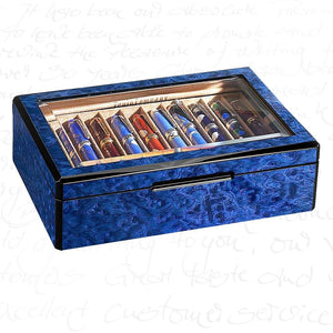 Venlo Blue 20 Pen Case