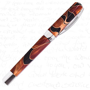 Visconti Vertigo Rollerball Pen - Orange