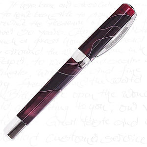 Visconti Vertigo Fountain Pen Red