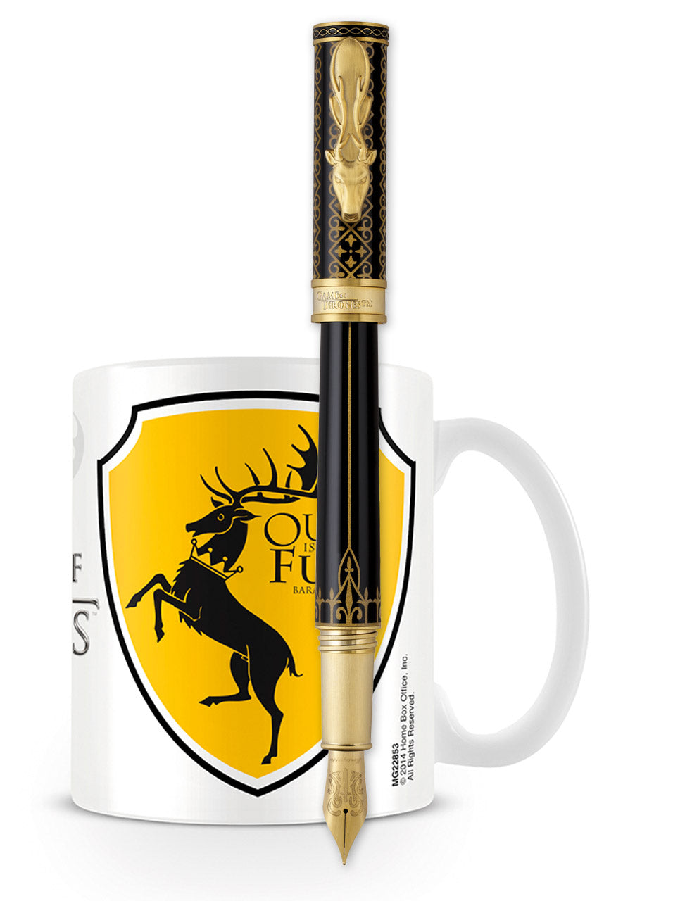 Montegrappa Game of Thrones Fountain Pen - Baratheon