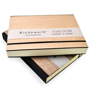 "Binderwerk - 3.5 x 5"" Purist Wood Books"