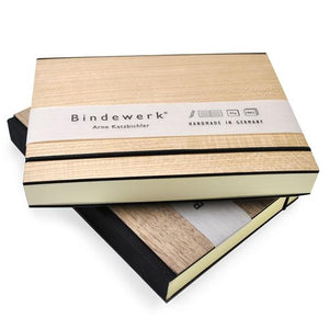 "Binderwerk - 4.75 x 6.5"" Purist Wood Books"