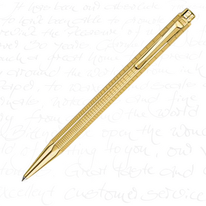 "Caran d'Ache Ecridor Collection ""Lignes Urbaines"" Gilded Mechanical Pencil (0.7mm)"