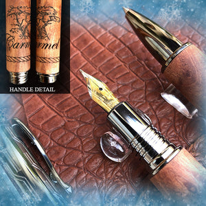 The Carmel Pen and Medieval Journal Gift Set