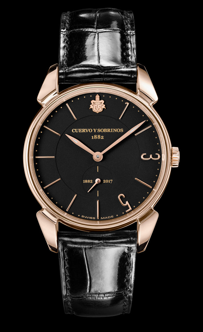 Cuervo y Sobrinos Historiador Limited Edition Watch