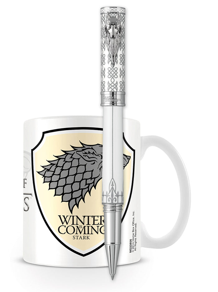 Montegrappa Game of Thrones Rollerball Pen - Stark
