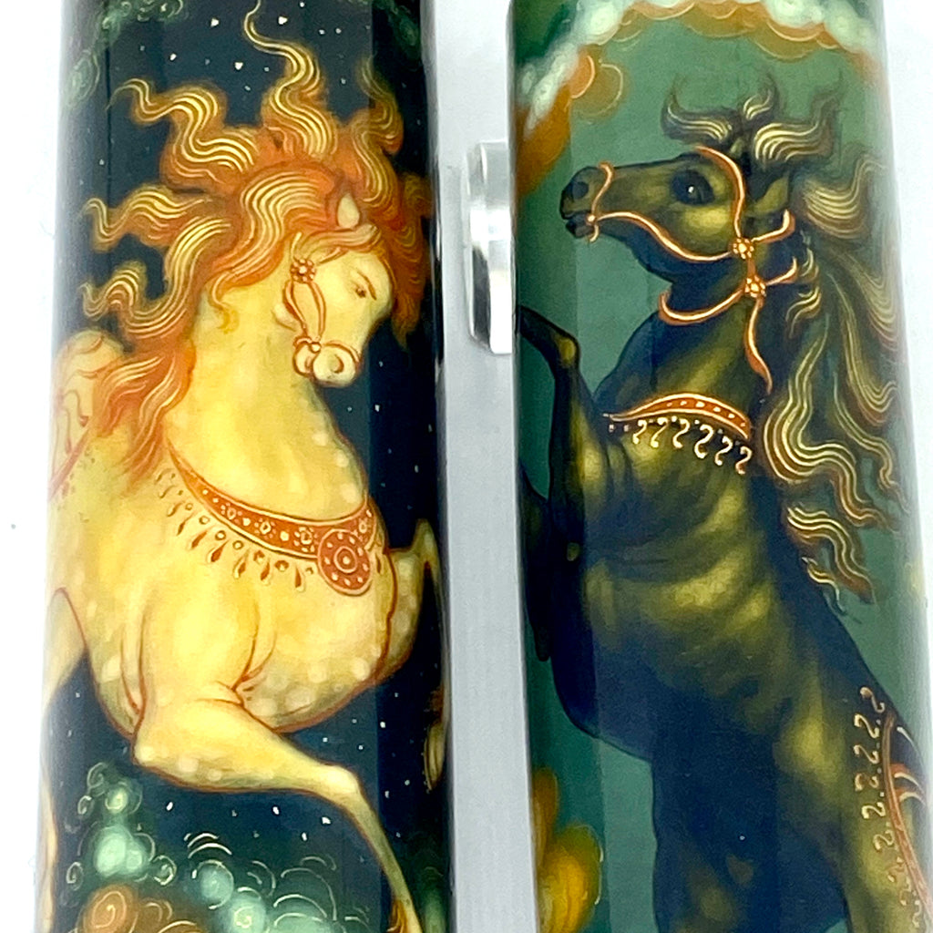 Artus Magnum Emperor The Horses, Day and Night - Fountain Pen
