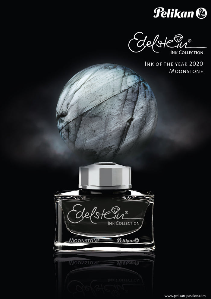 Pelikan Ink Bottle: Edelstein Moonstone 2020 Ink of the Year