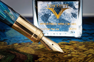 Visconti Van Gogh Fountain Pen - Wheatfield With Crows (Holiday Gift Set)