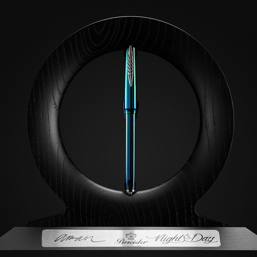 Pineider Homage to Arman Fountain Pen - Night & Day