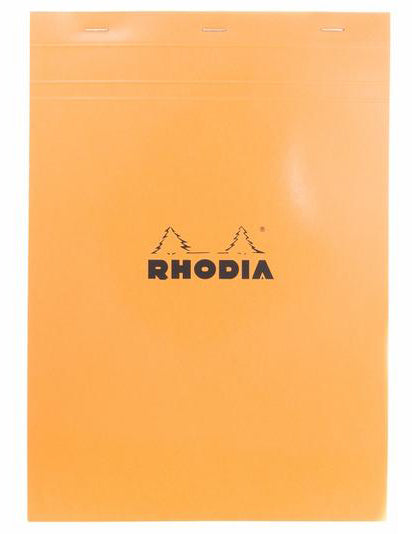 Rhodia No. 18 Notepad (A4) - Orange, Graph