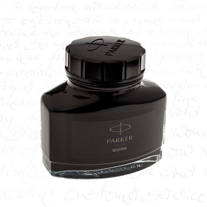Parker Quink Bottles Permanent Black