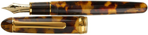 Platinum #3776 Celluloid Fountain Pen - Tortoise
