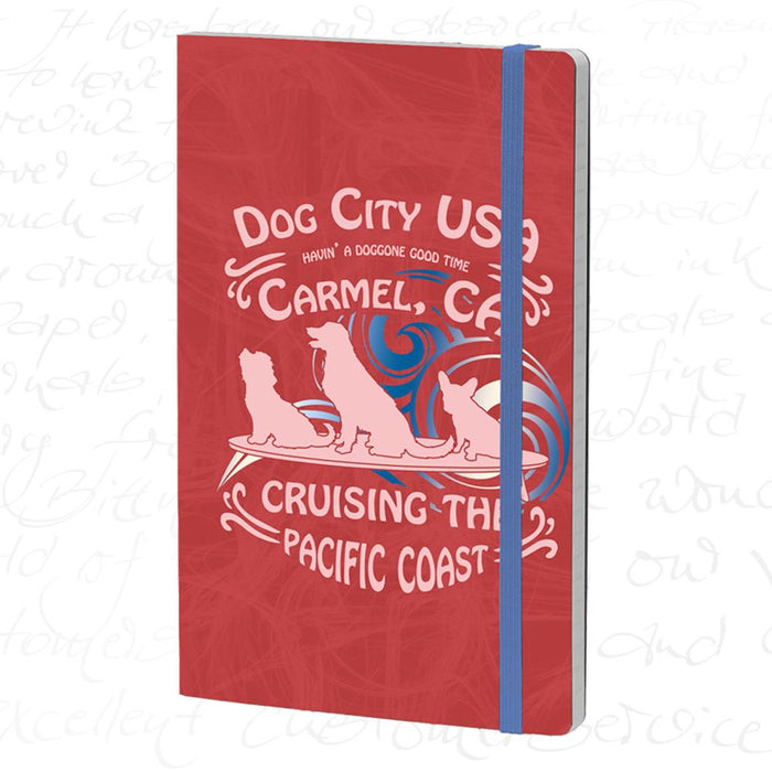 Stifflexible Carmel Journal – Dog City Red