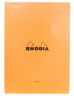 Rhodia No. 18 Notepad (A4) - Orange, Lined