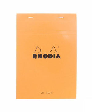 Rhodia No. 16 Notepad (A5) - Orange, Blank
