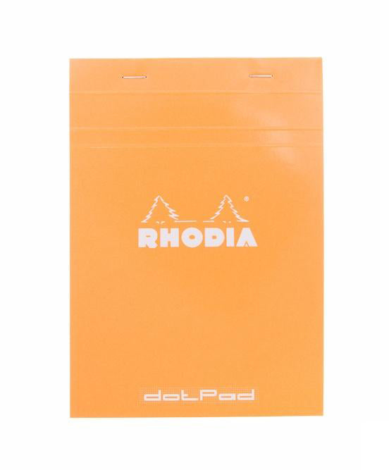 Rhodia No. 16 Notepad (A5) - Orange, Dot Grid