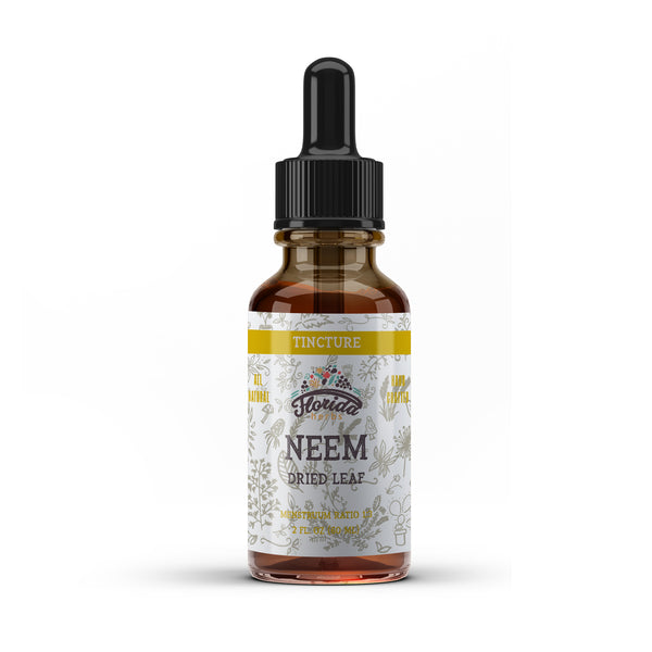 Neem Tincture, Organic Neem Extract (Azadirachta indica) Dried Leaf