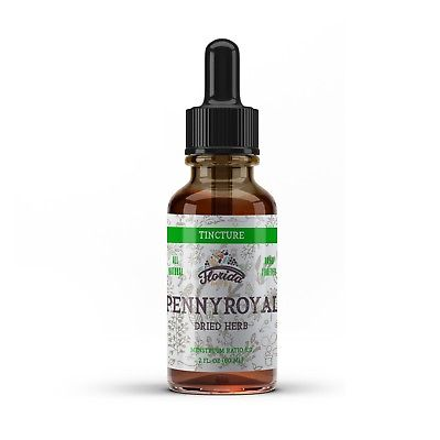 Pennyroyal Tincture, Organic Pennyroyal Extract (Mentha pulegium) Dried Herb
