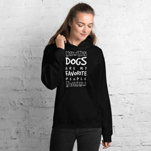 Dogs Are My Favorite People Hoodie