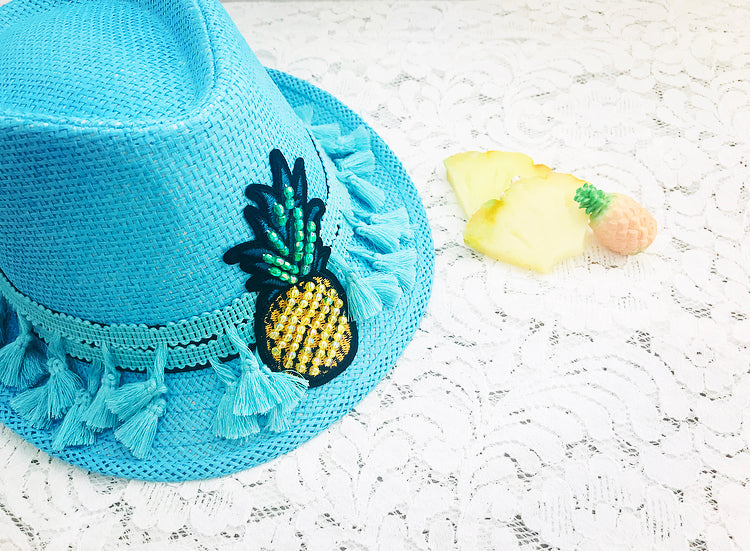 PINA COLADA Handmade Summer Hat, [product_tags] - Let's Boho