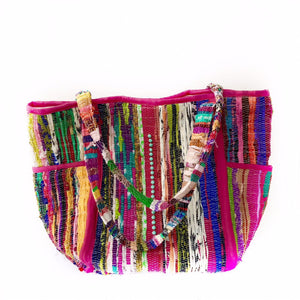 OVER THE RAINBOW Kourelou Boho Bag, [product_tags] - Let's Boho