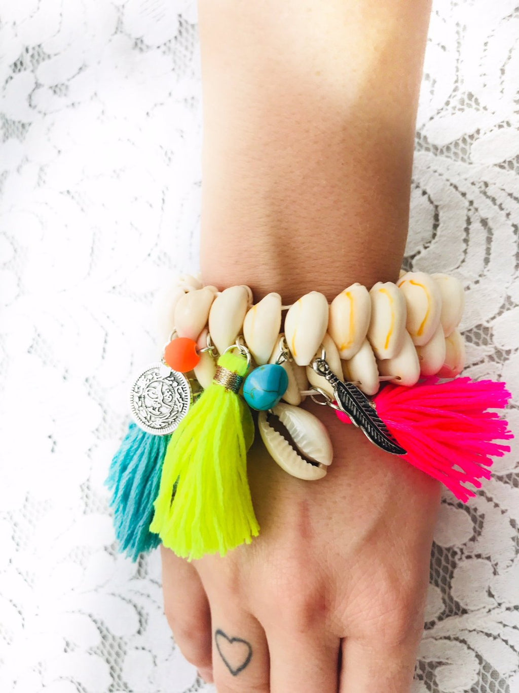 SEA BREEZE Boho Shell Bracelet, [product_tags] - Let's Boho