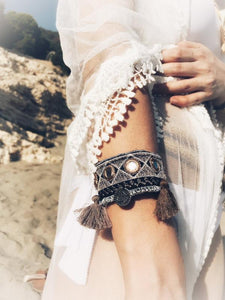 ATHENA Boho Tassel Bracelet  * 2 Colors, [product_tags] - Let's Boho
