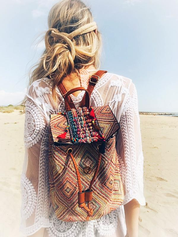 NATALIA Fashion Tassel Backpack, [product_tags] - Let's Boho