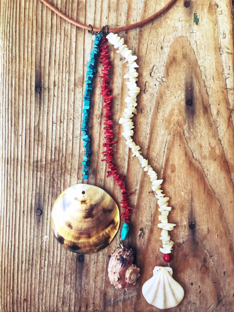LAST SUMMER Coral  Necklace, [product_tags] - Let's Boho