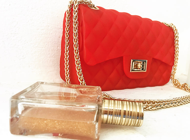 LOLITA Silicone Clutch Bag, [product_tags] - Let's Boho