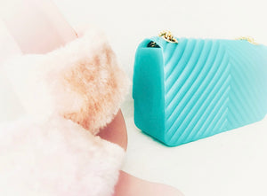 MALIBU WAVE Silicone Clutch Bag, [product_tags] - Let's Boho
