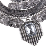 ARTEMIS  Silver Statement Turkish Necklace, [product_tags] - Let's Boho