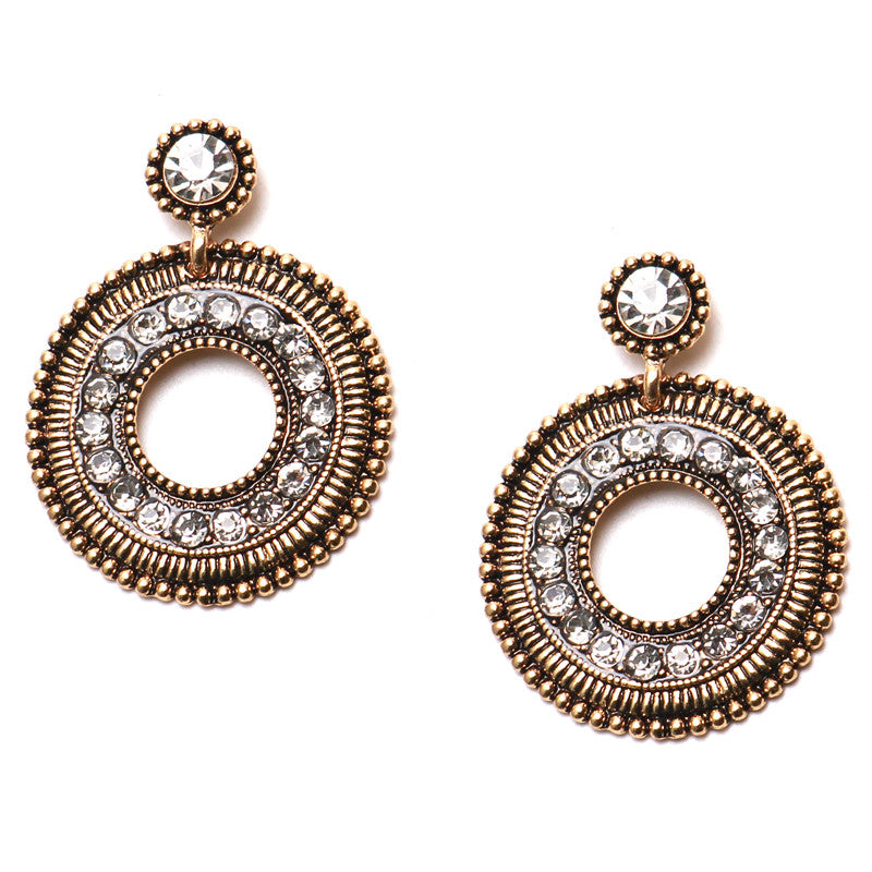 ERATO Water Drop Rhinestone Crystal Earrings, [product_tags] - Let's Boho
