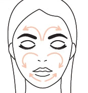 How to apply radiant glow primer step 2