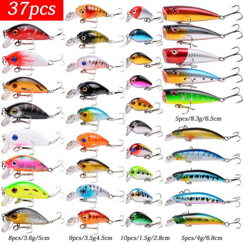 Fishing Lure Set Fishing Hard Bait Mini Minnow Floating Swing Crankbait Crazy Wobblers Artificial Bionic Crank Lures