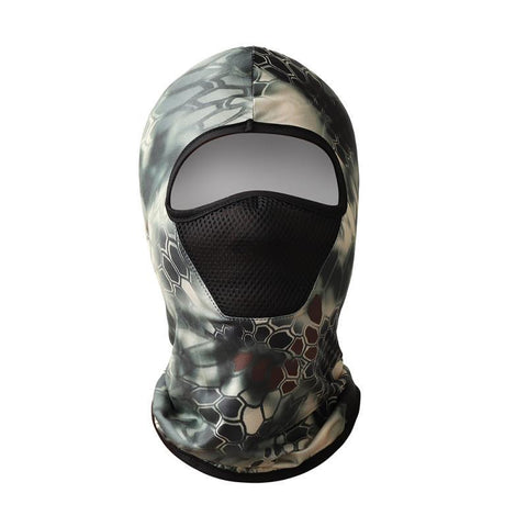 Image of Ice Silk Hiking Scarf Sunscreen Breathable Outdoor Sweat Wicking Balaclava Fishing Bandana Sun Neck Collar Headgear Cycling