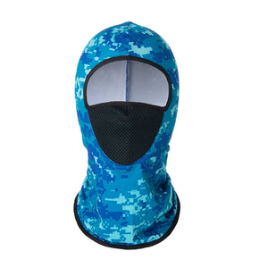 Ice Silk Hiking Scarf Sunscreen Breathable Outdoor Sweat Wicking Balaclava Fishing Bandana Sun Neck Collar Headgear Cycling