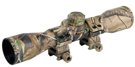 TruGlo 4X32 Crossbow Scope Camo w  Rings TG8504C3