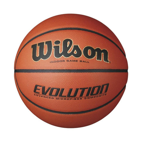 Wilson Evolution Intermediate Size Game Basketball-Scarlet