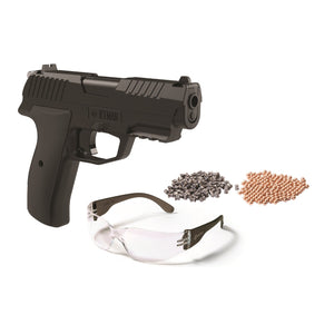 Crosman Iceman CO2 BB Pellet Pistol Kit