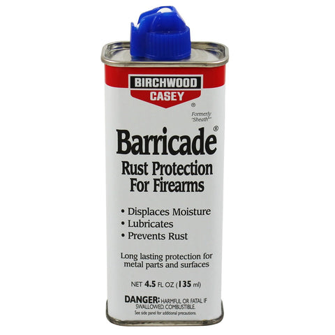 Birchwood Casey Barricade Rust Protection 4.5 oz Spout Can