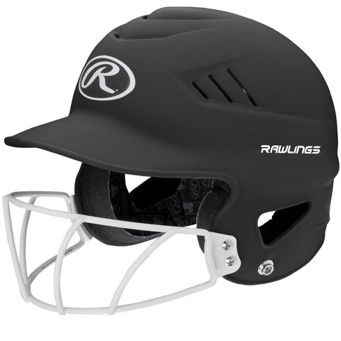 Rawlings Coolflo Highlighter Softball Helmet Face Guard-Blk